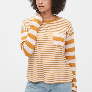 GAP Boxy Stripe Long Sleeve